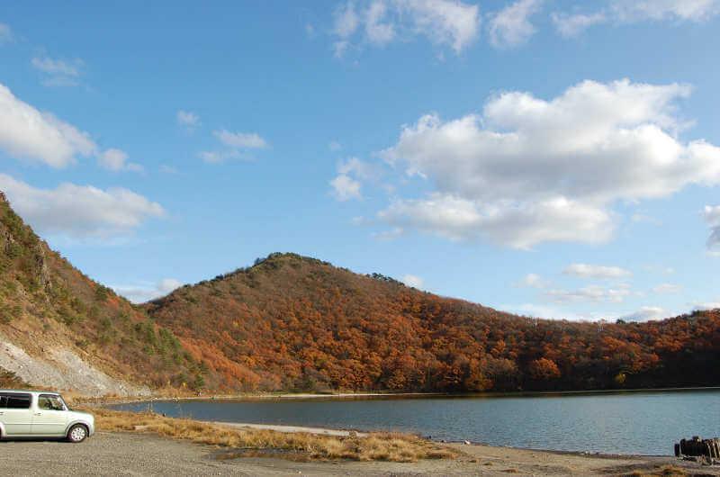 鳴子温泉・潟沼の紅葉