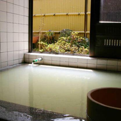 貸切風呂・越後屋旅館